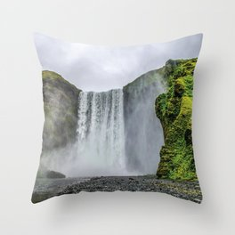 Intrepid Iceland Throw Pillow