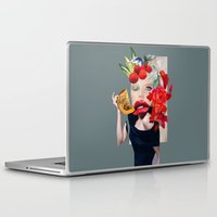 pumpkin Laptop & iPad Skins featuring Pumpkin  by polina stroganova collages
