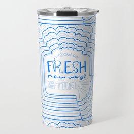 Fresh New Ways – Blueberry Travel Mug