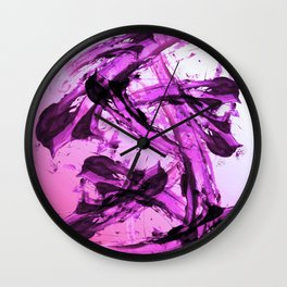 Vicious Pink Wall Clock