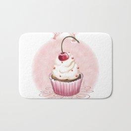 Cherry Cupcake Bath Mat