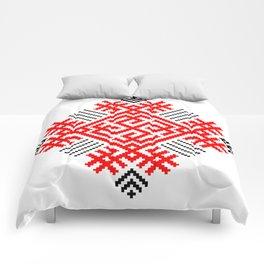 Rodimich - Antlers - Slavic Symbol #1 Comforters