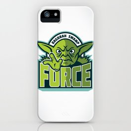 Dagobah Swamp Force iPhone Case