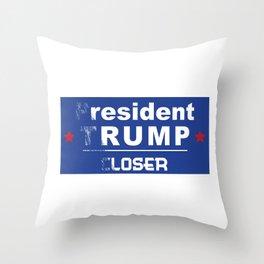 resident rump Throw Pillow
