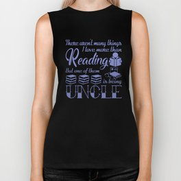 Reading Uncle Biker Tank