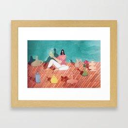 Amongst Friends Framed Art Print