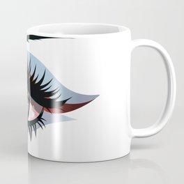 Blue eye with make up Coffee Mug