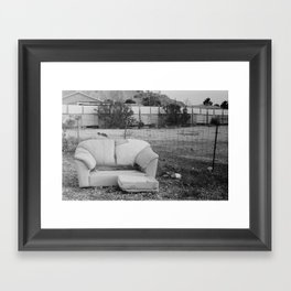 the neighborhood Framed Art Print