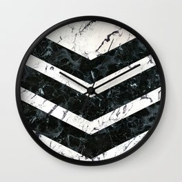 Marble - Army Wall Clock