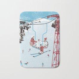 Ski Lift Bath Mat
