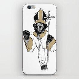 The Bear Pope iPhone Skin