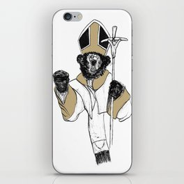 The Bear Pope iPhone Skin