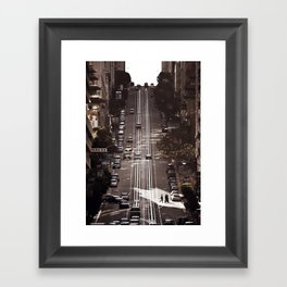 San Francisco Hills Framed Art Print