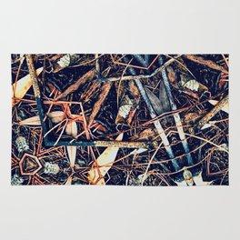 Patterned Pine No:1 Rug