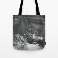 ducks Tote Bags featuring Ducks by Rose Etiennette