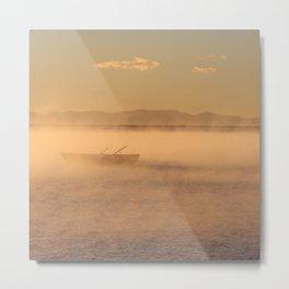 Mist on Lake Titicaca Metal Print