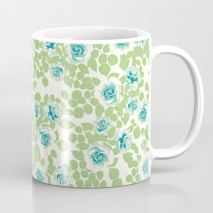 rose garden green Coffee Mug