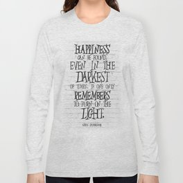 Albus Dumbledore Quote Inspirational Long Sleeve T-shirt