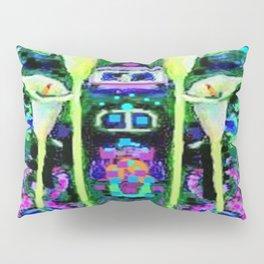 ARTY ART NOUVEAU CALLA LILIES DESIGN Pillow Sham