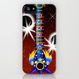 Fusion Keyblade Guitar #144 - Total Eclipse & Star Seeker iPhone Case