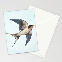 Barn Swallow - option Stationery Cards