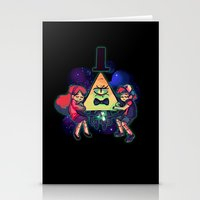 gravity falls Stationery Cards featuring Gravity Falls by Miki Draw