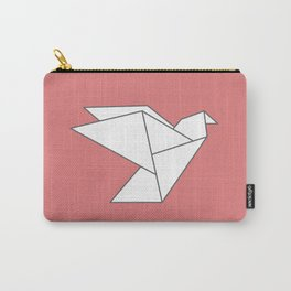 LOVE - Origami Bird Carry-All Pouch