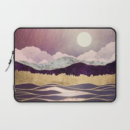 Lunar Waves Laptop Sleeve