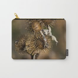 Burdock in the Fall Carry-All Pouch
