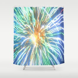 Kundalini Awakening Shower Curtain
