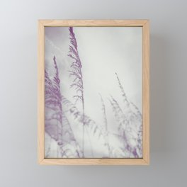 August Beach Framed Mini Art Print