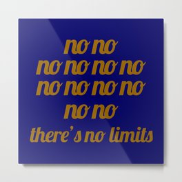 No limit - A Tribute to 2 Unlimited Metal Print