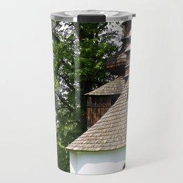 Cerkiew w Bielicznej Travel Mug