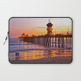 HB Sunset Picture Takers Laptop Sleeve