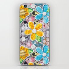 Paper Flower Power iPhone & iPod Skin