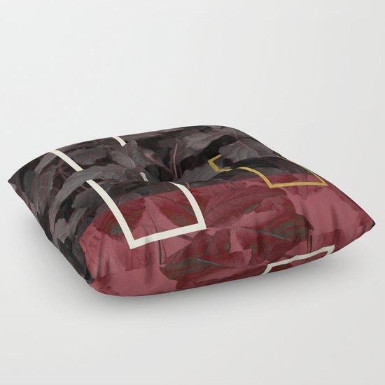 Floor Pillows Society6 : Burgundy Fall #society6 #decor #buyart Floor Pillow by DesigndN Society6