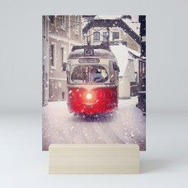 Tram Salzburg Mini Art Print