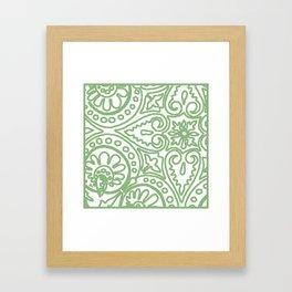 Dulce Apple Framed Art Print