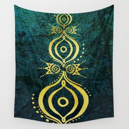 Oriental Wisdom Wall Tapestry