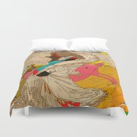 mother Duvet Covers featuring MOTHER by kasi minami