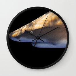 Lemon Shark Backdrop Wall Clock