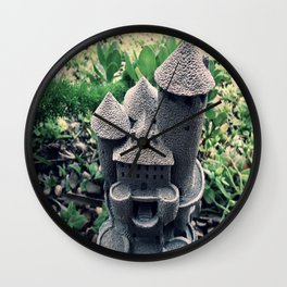 Garden Castle  Wall Clock