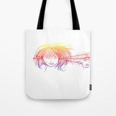 Arrow Head (Yellow/Red/Blue) Tote Bag