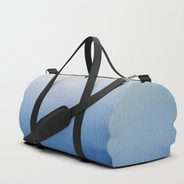 Ocean Mist - Abstract Watercolor Painting Blue and White Duffle Bag