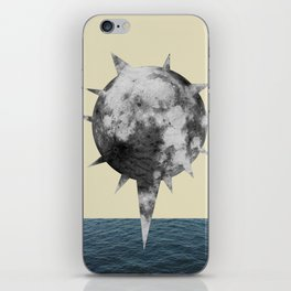 Moon Flower iPhone Skin