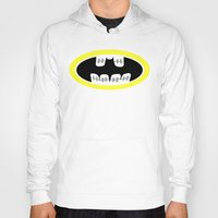 comic book Hoodies featuring Braces/ Comic book by Aztec Pineapple