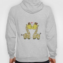 Giraffes in Love Hoody