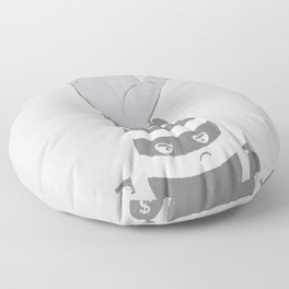 Armed Robbery Floor Pillow