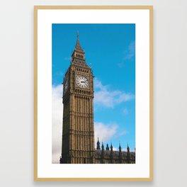 Bing Ben 3:11 Framed Art Print