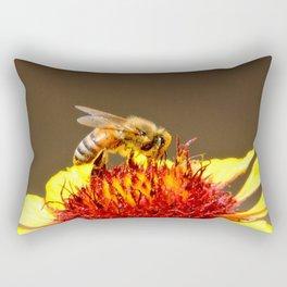 Pollenator at Work Rectangular Pillow